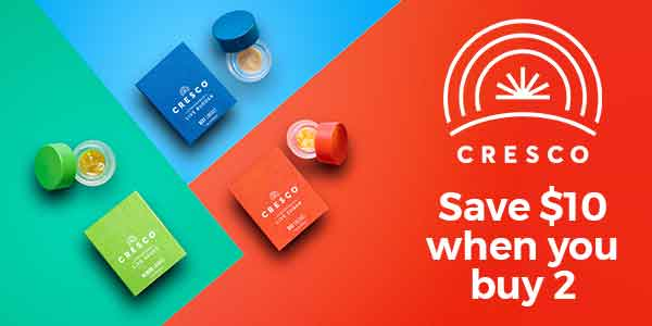 FEATURED DEAL - Cresco Concentrates buy 3 for $110