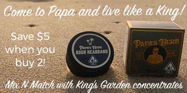 MIX N MATCH - King's/Mids Budder and Sugar/Papa's