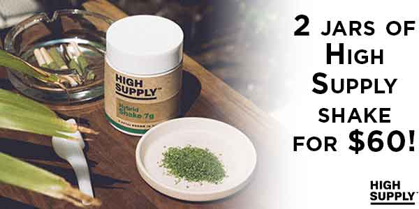 FEATURED DEAL - High Supply Shake - 10 off 2
