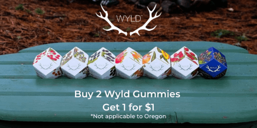FEATURED DEAL - Wyld - B2G1 for $1