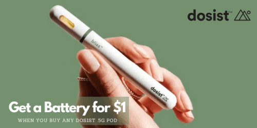 FEATURED DEAL - Dosist - Battery for $1 w/ 1 pod