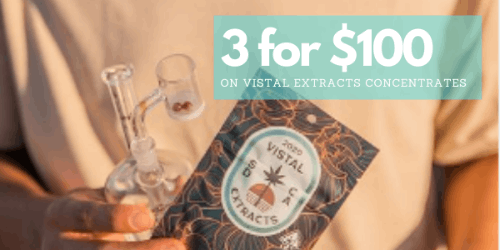 EVERYDAY DEAL - Vistal Extracts - 3 for $100