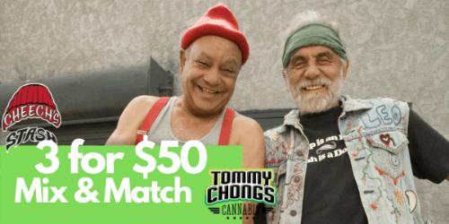 MIX N MATCH - Cheech and Chong Prerolls 3 for 50