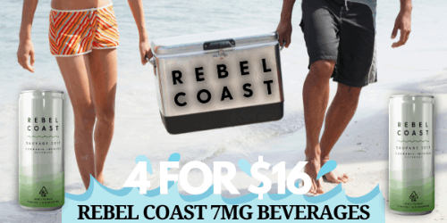 FEATURED DEAL - Rebel Coast 4 for 16 (7mg)