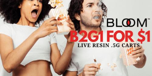 FEATURED DEAL - Bloom B2G1 .5g LR carts