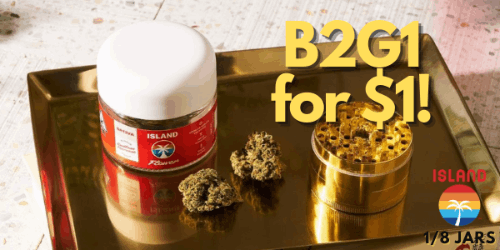 LABOR DAY - Island B2G1 for $1